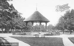 Barnstaple, Rock Park, Bandstand 1899