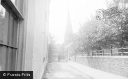 Barnstaple, St Paul's Church (Crooked Spire) c.1890