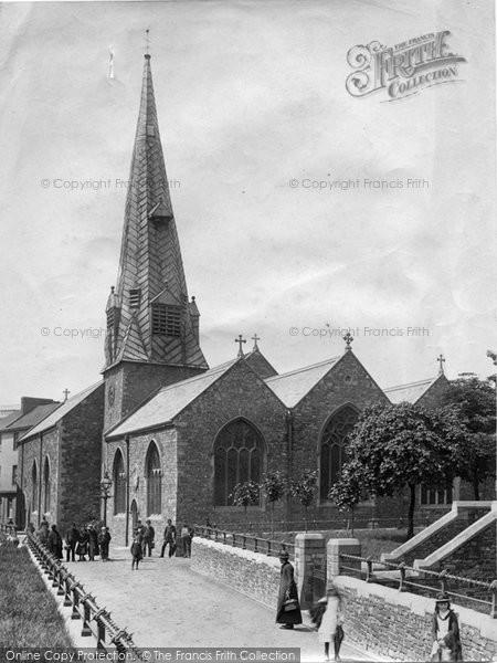 Barnstaple, St Peter's Church 1890