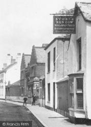Barnstaple, Stone's Red Cow 1903