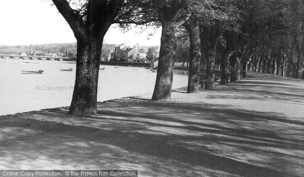 Barnstaple, Sunlight And Shadow c.1950