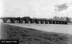 Barnstaple, The Bridge c.1890