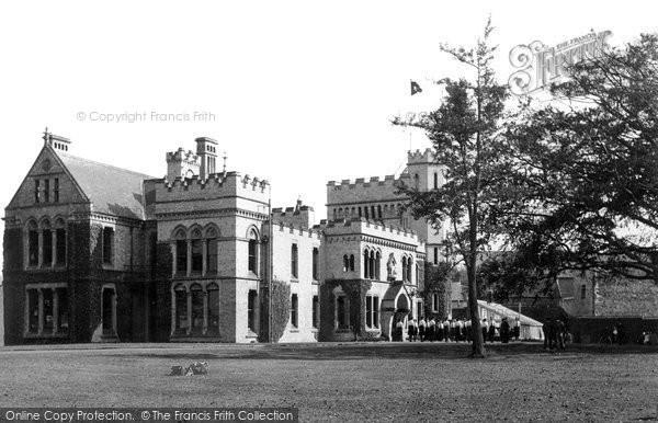 Barnstaple, The Castle Grounds c.1955