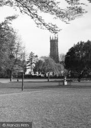 Barnstaple, The Church c.1950