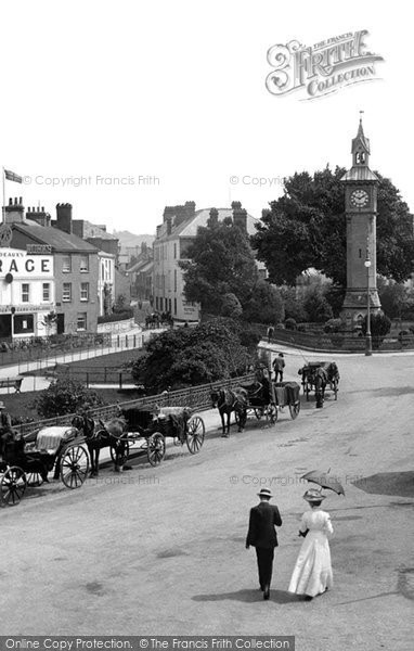 Barnstaple, The Clock Tower 1912