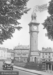 Barnstaple, The Clock Tower 1929