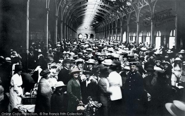 Barnstaple, The Market 1919