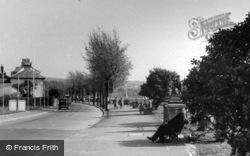 The River Walk c.1955, Barnstaple