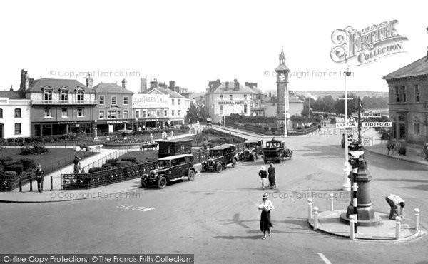 Barnstaple, The Square 1935