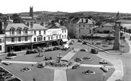 Barnstaple, The Square c.1955