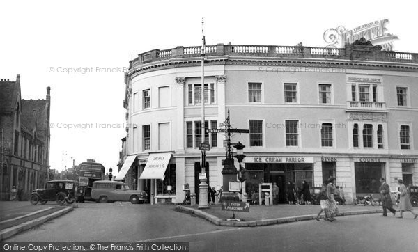 Barnstaple, The Square c.1960