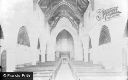 Barnstaple, Trinity Church Interior 1890