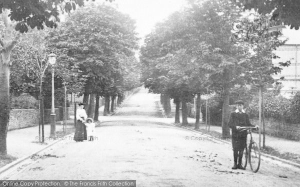 Photo of Barnstaple, Victoria Road 1906