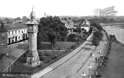 Barnstaple, View From Athenaeum 1912