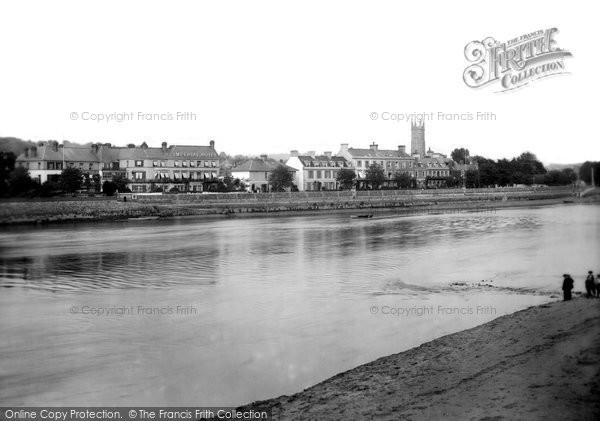 Barnstaple, View From Atheneum 1912