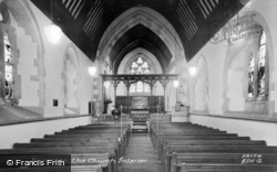 Church Interior c.1955, Barnston