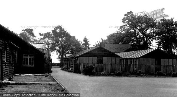 Photo of Barnston, Dale House Camp c1955, ref. B441017