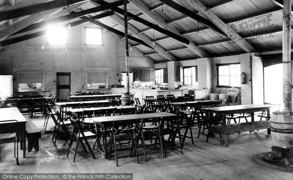 Photo of Barnston, the Dining Hall, Dale House Camp c1955, ref. B441025