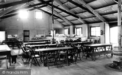 Barnston, The Dining Hall, Dale House Camp c.1955