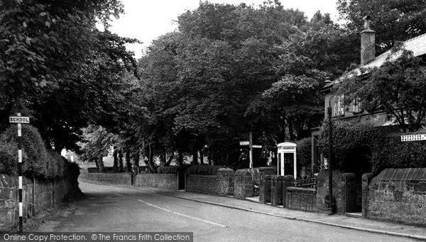Barnston, The Village c.1955
