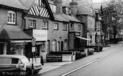 Barnt Green, Hewell Road, Newsagent c.1960