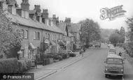 Barnt Green, Hewell Road, Shops And Bank c.1965