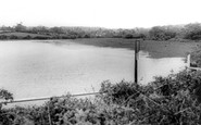Barnt Green, Lower Bittell Reservoir c.1965
