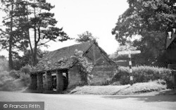 Barnt Green, The Old Barn c.1955