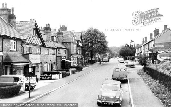 Barnt Green, The Village c.1960