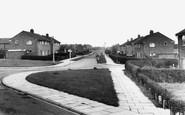 Barnton, Alamein Road c.1960