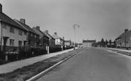 Barnton, Manor Drive c1955