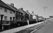 Barnton, Manor Drive Houses c.1955