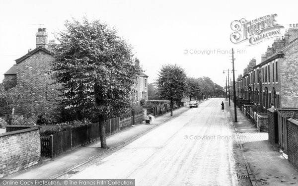 Barnton, Nursery Road c.1960
