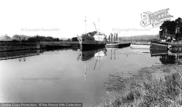 Barnton, River Weaver c.1965