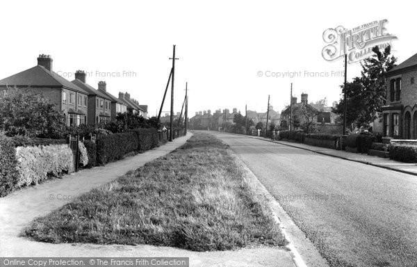Barnton, Runcorn Road c.1955