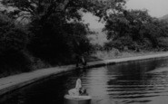 Barnton, The Canal c.1965