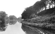 Barnton, The Tow Path c.1955