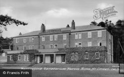 Sanatorium Nurses Home c.1960, Barrasford