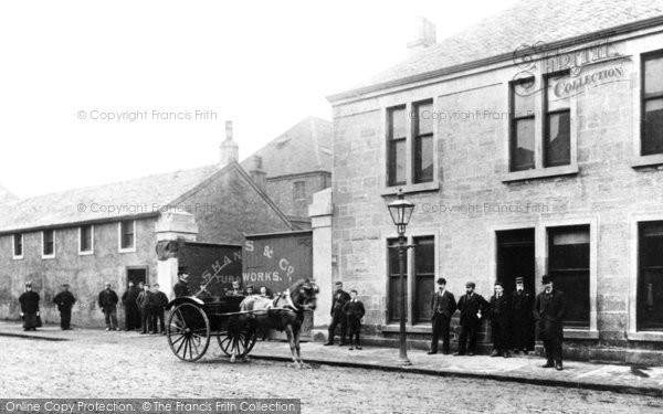 Barrhead, Shanks Tubal Works, Main Street 1908