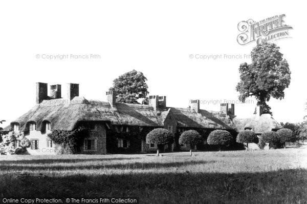 Photo of Barrington, Court Cottages c1955