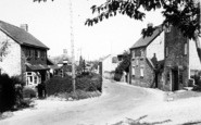 Barrington, View Of Village And Post Office c.1955