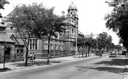 Barrow-In-Furness, Abbey Road And Technical College c.1950