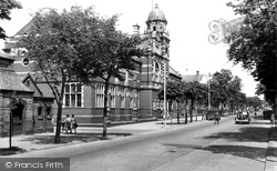 Barrow-In-Furness, Abbey Road And Technical College c.1950, Barrow-In-Furness