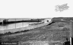 Barrow-In-Furness, Biggar Bank Swimming Pool 1934, Barrow-In-Furness