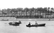 Barrow-In-Furness, Boating, Park Lake 1924