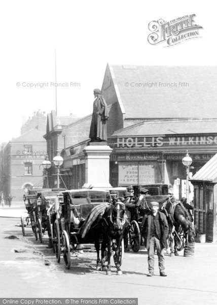 Barrow In Furness, Carriages In Duke Street 1898