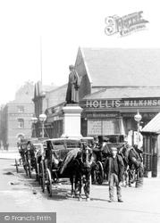 Barrow-In-Furness, Carriages In Duke Street 1898, Barrow-In-Furness