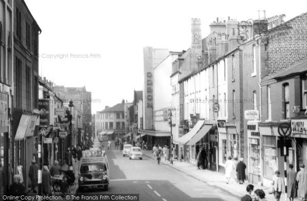 Barrow In Furness, Cavendish Street c.1960