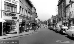Barrow-In-Furness, Dalton Road c.1955, Barrow-In-Furness