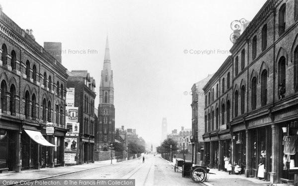 Barrow In Furness, Duke Street 1893